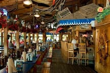 Phillippi Creek Oyster Bar - famous for seafood