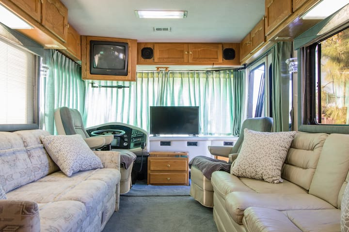 Luxury RV Coach, your location