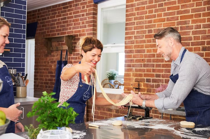 Book into a cooking class or a private dinner to add to your stay  (photo credit Destination NSW)