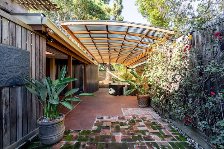 Private Secluded Artistic House Palo Alto Stanford