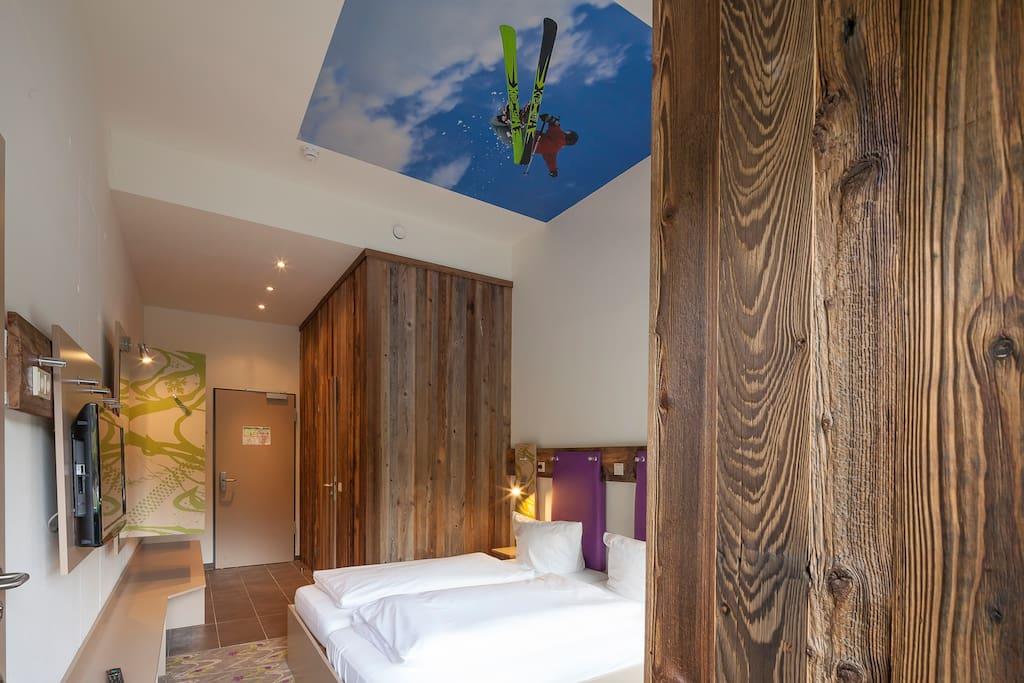 Moderne Design-Zimmer