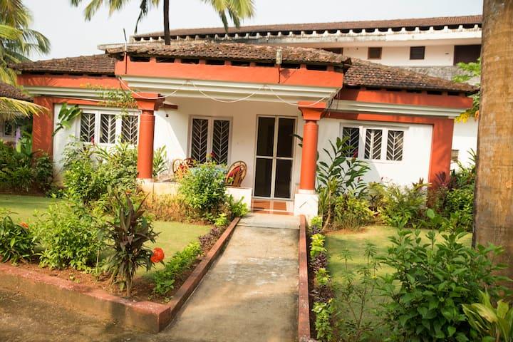 Villa beach stay in Cavelossim, Goa