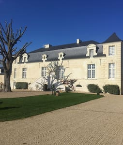 Family Manor in the Loire Valley. - Allonnes - Casa