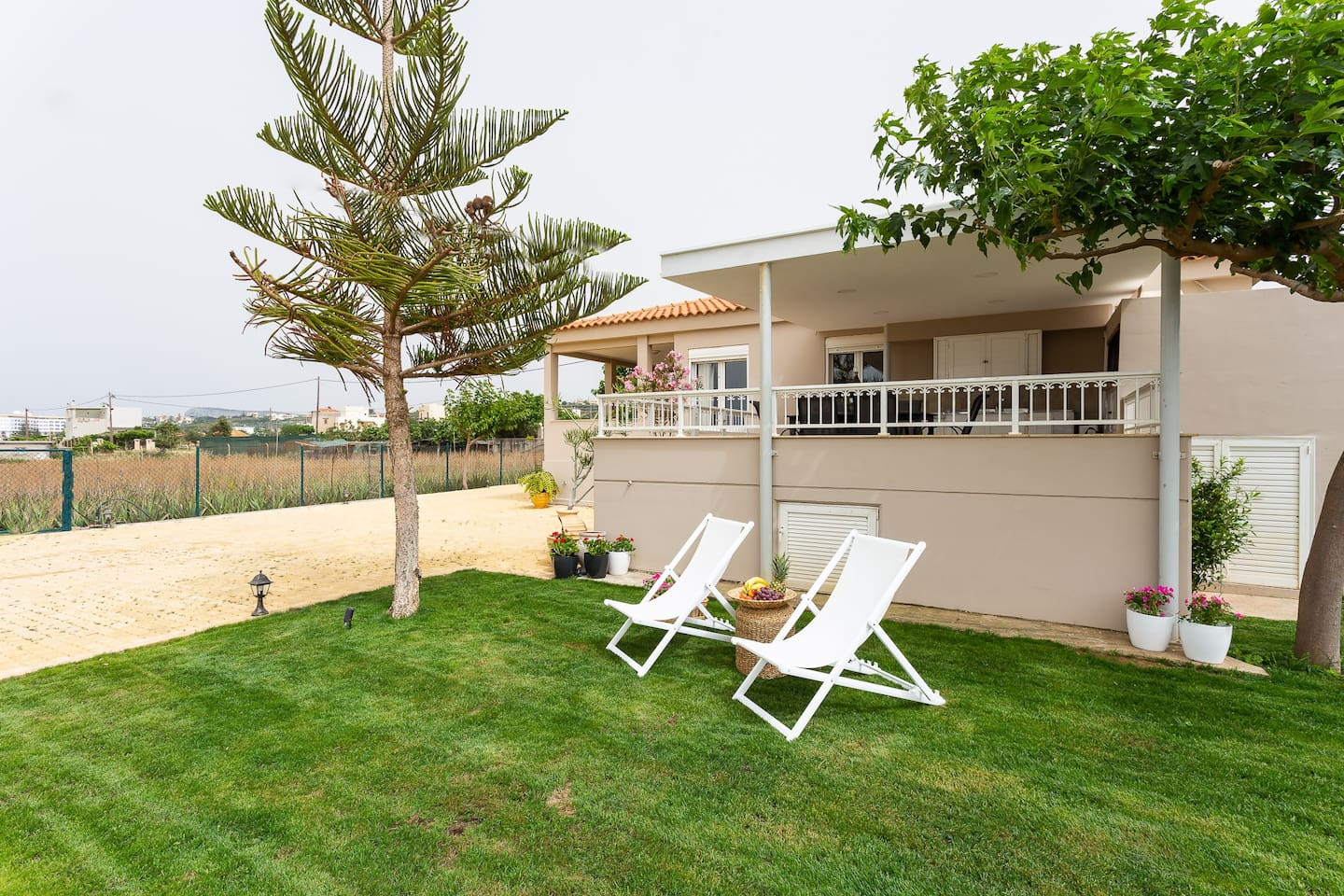 The beautiful outdoor area (1000m2) of Bella Vista Beach House,  ensures that you are gonna live everyday peaceful moments in full!