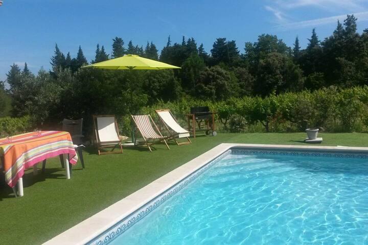 Au cœur des vignes - Villa de charme avec piscine