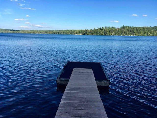 Enjoy lakefront at The Pearl of Lake Saint George