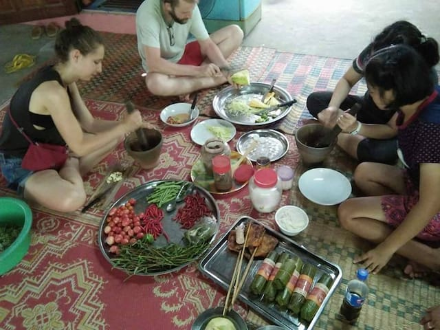 RelaxPlace inGarden,Airport6km+LocalGuide+FreeBike - Ubon Ratchathani - Haus