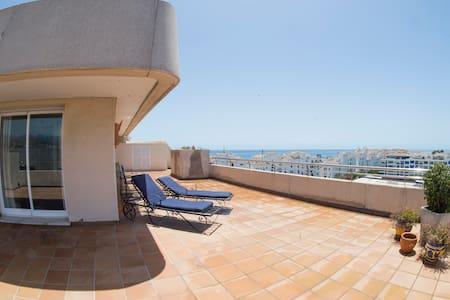 Penthouse, Wrap-around Deck, Views!!! - Marbella