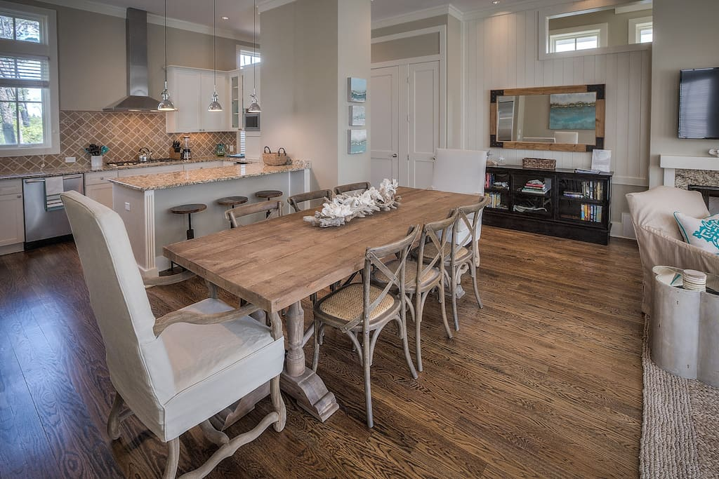 Large Dining Table seats 8