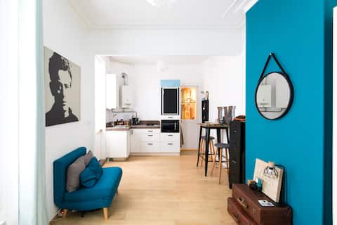 Charming Parisian accommodation with private courtyard!