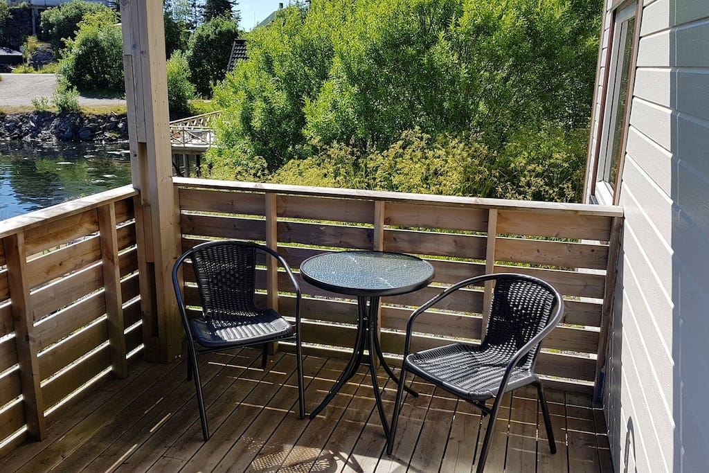 Your own veranda.