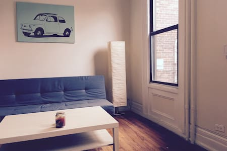 Charming Bright Apartment 20 minutes from NYC - Jersey City - Appartement