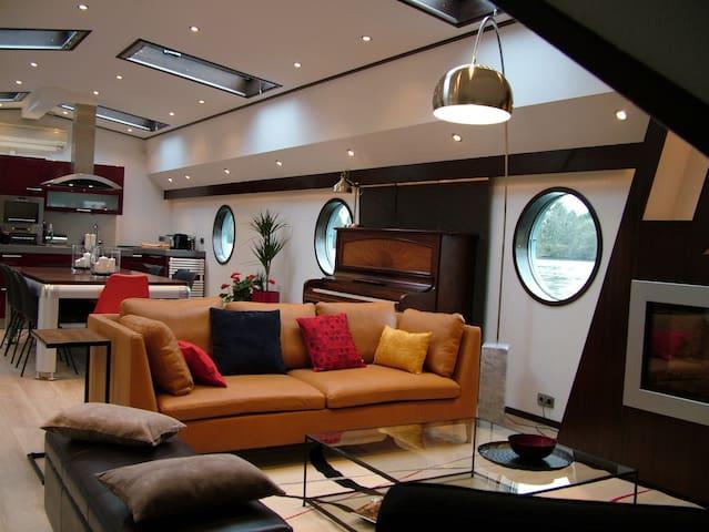 Bateau de luxe à 20 mn de Paris - La Frette-sur-Seine - Barca
