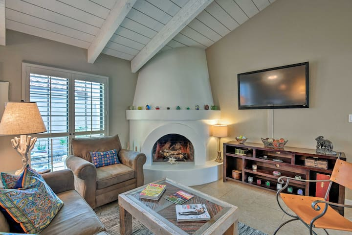 Heat up your next Scottsdale trip and stay at this vacation rental townhome!