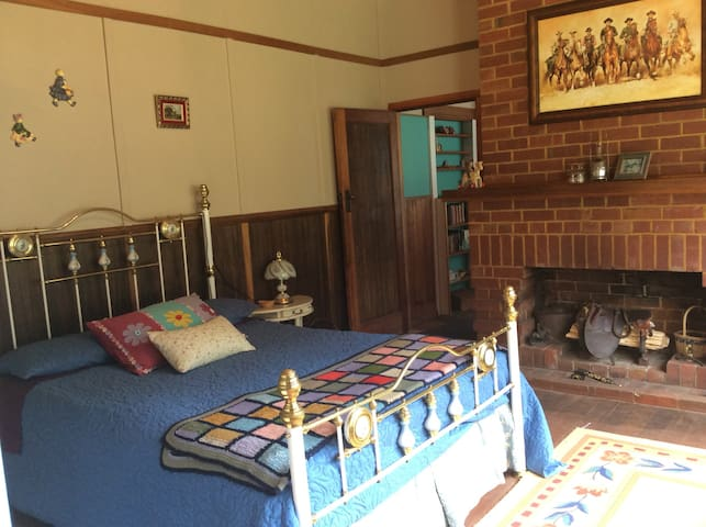 Family room with adjoining bunk bedroom