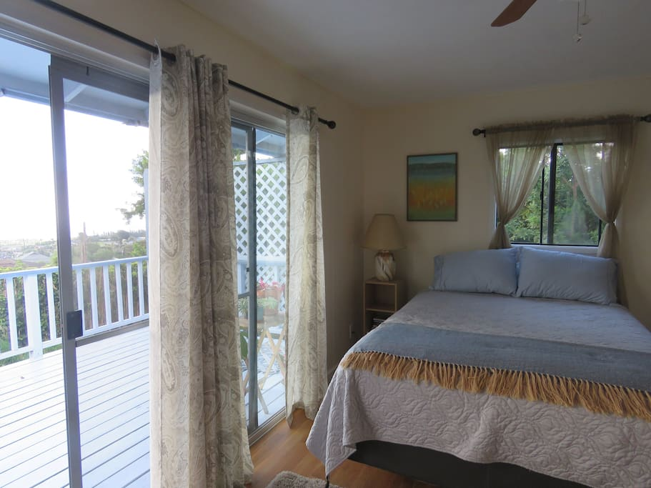 Lanai with views just outside your door
