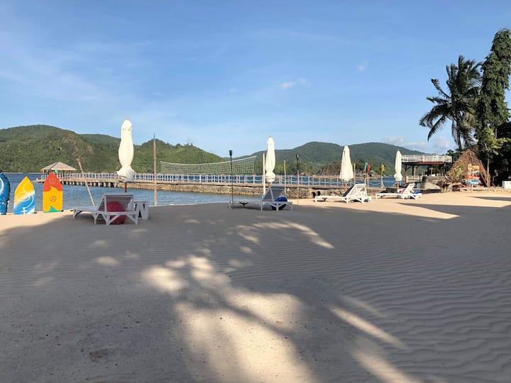 Pangulatan Beach Resort  Villa # 2 Beach Front