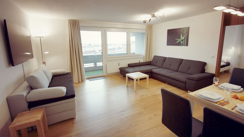Stylish aparment in Heidelberg city with sauna