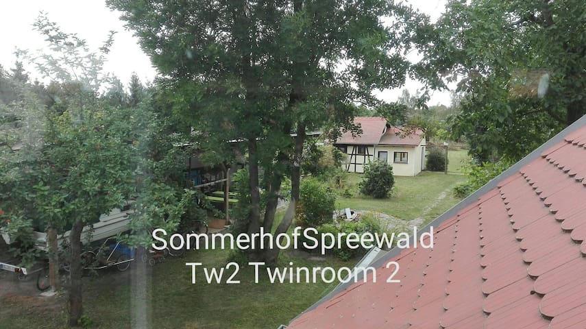 T2 Sommerhof Spreewald Twinroom 2