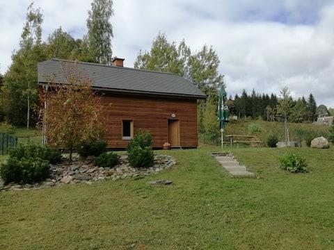 Autumn romance at the Brigit cottage in Jeseníky