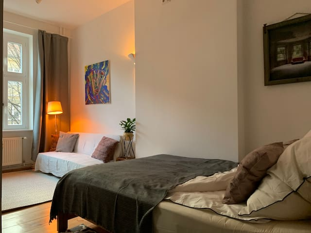 Studio in Berlin Friedrichshain with Private Bath