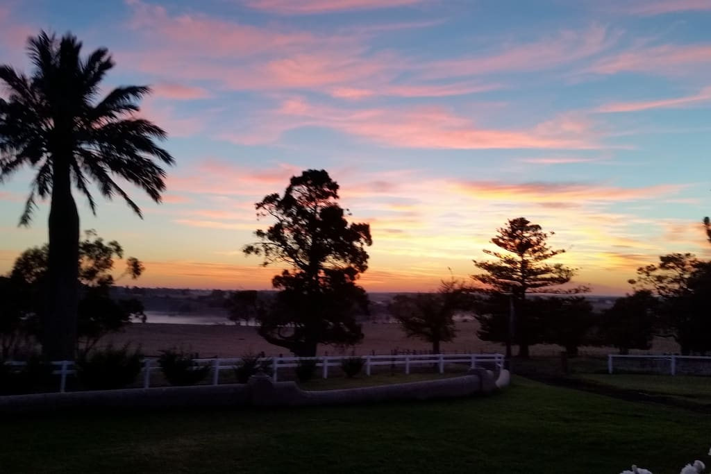 Sunrise 8th April 6.15am