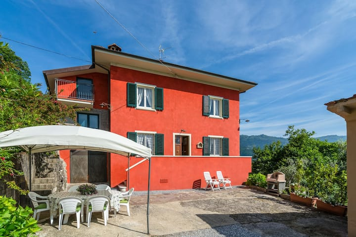 Spacious Holiday Home in Marliana Italy with Private Garden