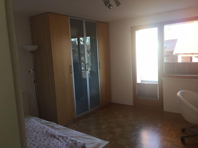 2 Zimmer mit eigenem Bad und Balkon - Ahnatal - House