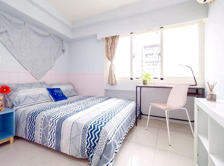 Cozy  apartment near Gongguan station 2