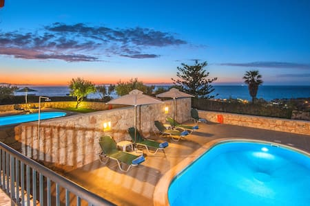 3 bedroom villa with sea view and private pool .S - Stavromenos - Villa