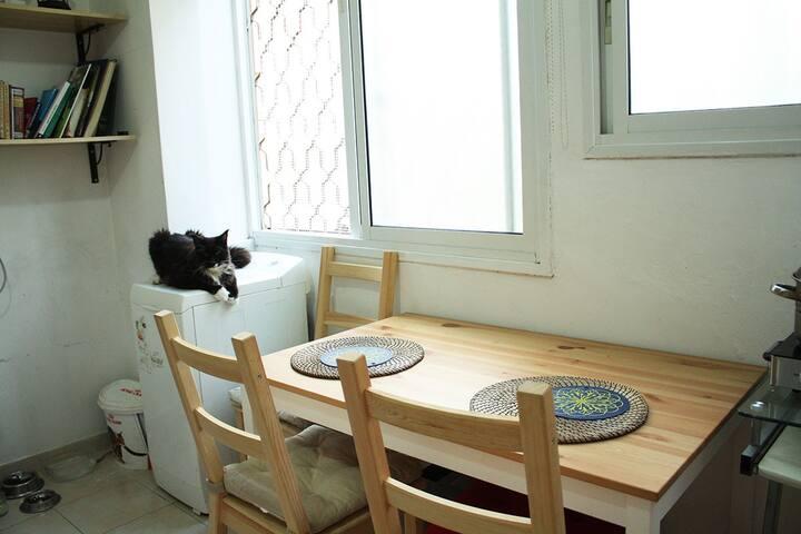 Светлая квартира в Рамат гане