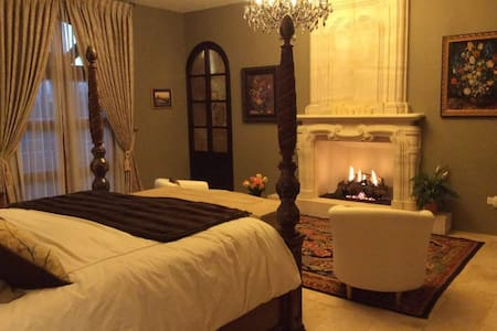 Romantic suite  w / private entrance and breakfast - San Miguel de Allende - Huis