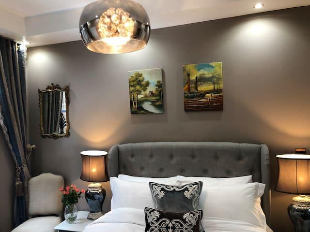 Newly Renovated Luxury Victorian Flat•Views•2Baths