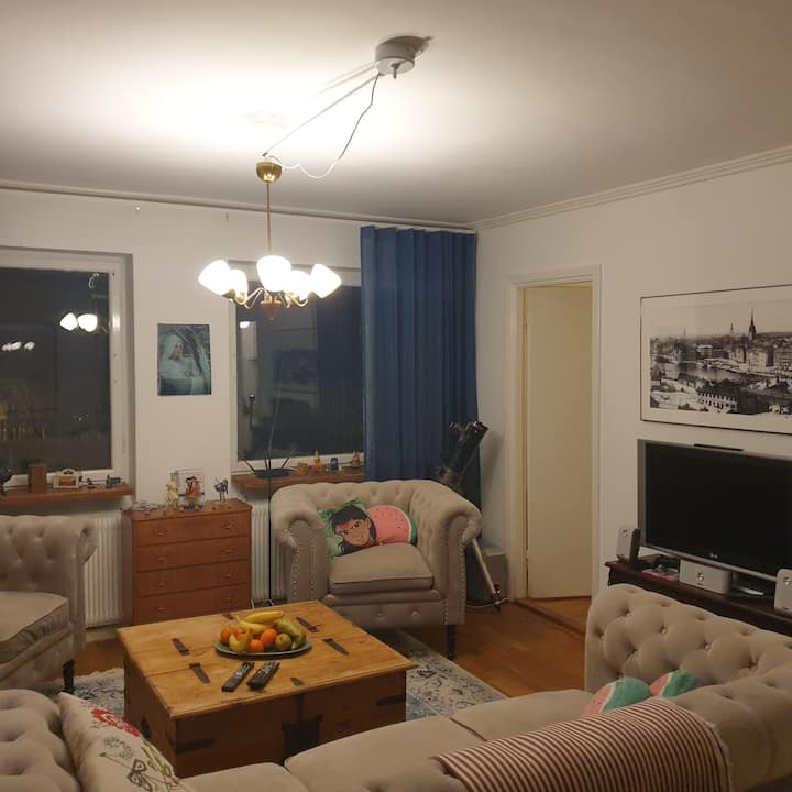 3 room apartment in Solsidan