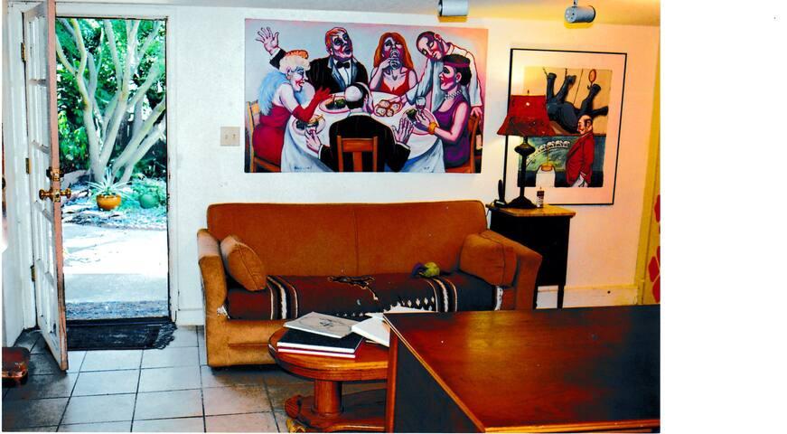 Atelier full of art and light on Berkeley Hills - Kensington - Apartment