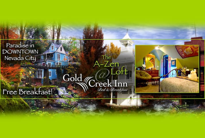 Gold Creek Inn B&B A-Zen Loft