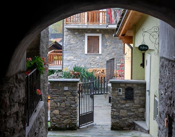 portico d'accesso
