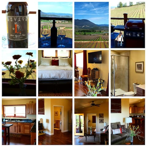 Laujor Vineyard Loft! - Kelseyville - Vindsvåning