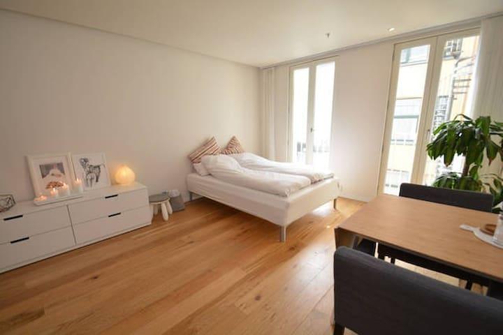 Smart studio apartment in city center.