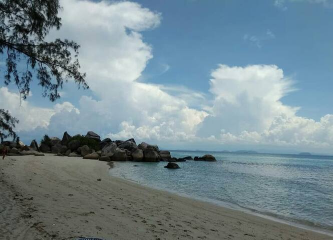 Batu Ferringhi long beach