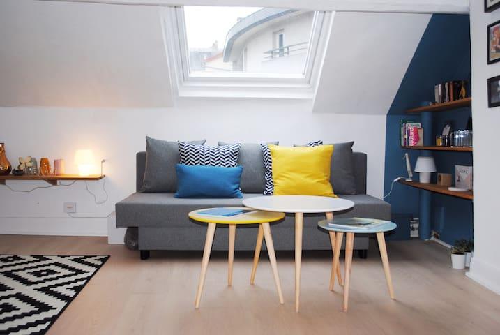 THE PERFECT PARISIAN COCOON - Rue Daguerre - 42m2 - Paris - Apartment