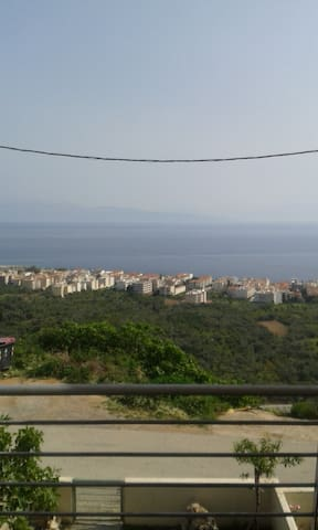 Gorgeous flat with  view of the sea - Akrata