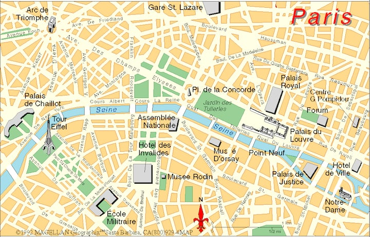Studio 7m2 paris centre