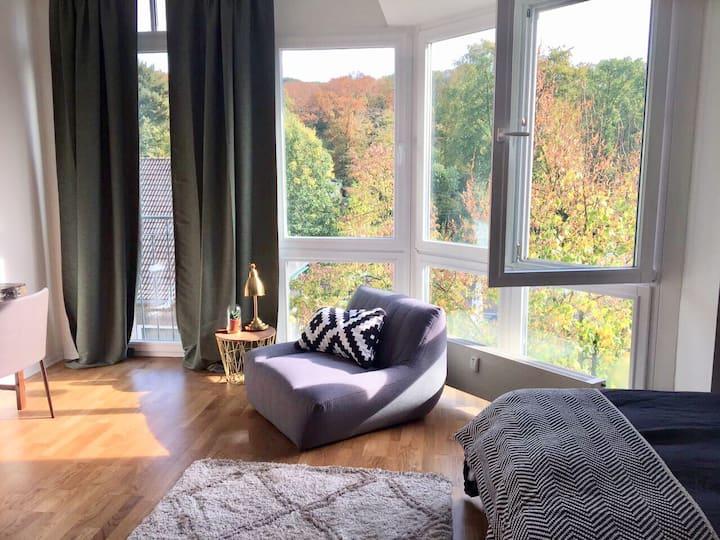 Schönes Apartment / gute Anbindung / Naherholung