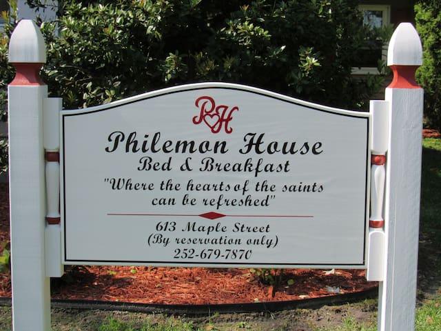 Philemon House awaits your arrival.