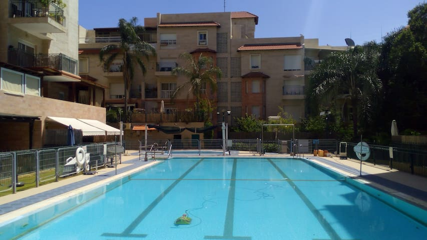 Pleasant garden apartment - Rehovot - Apartment