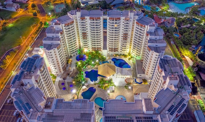Apartemento no Resort Wyndham Olímpia Royal Hotels