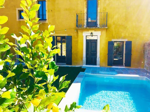 Maison au coeur d'un village du Gard