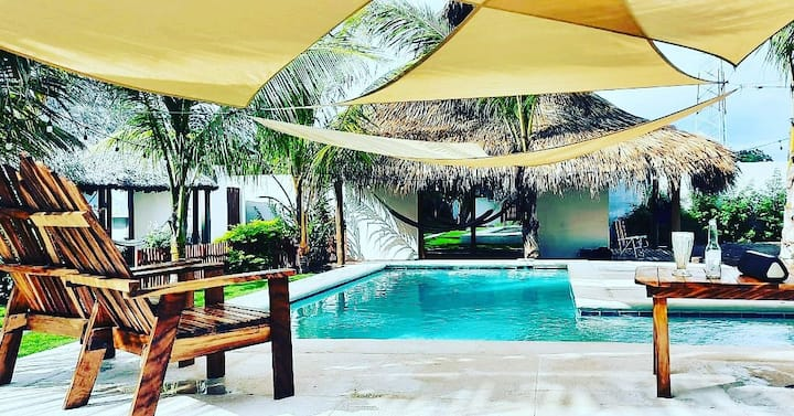 Lux Private Villa Kaikora for 3 people(a/c & pool)