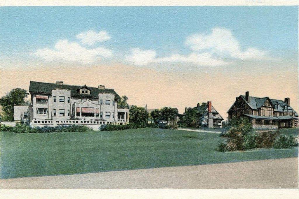 Edmister House (antique postcard)